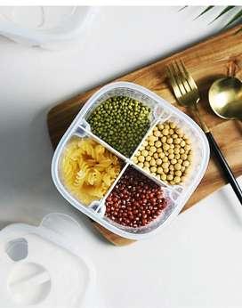 Dispensador De granos y cereales x 4 divisores