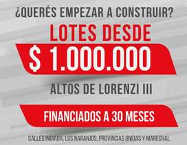 ►MANCISIDOR PROP◄ Terrenos con amplia FINANCIACIÓN