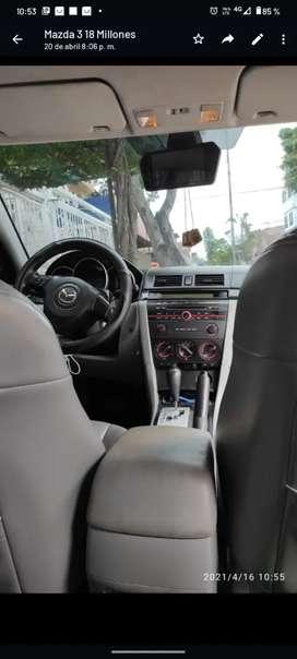 Se vende Mazda 3 2007  tecnomecanica y soat hasta diciembre