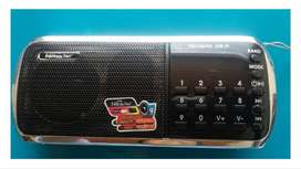Radio Recargable Portátil Fm / Am Digital Mp3 Digital Usb