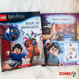 Lego harry potter original incluye libro de actividades