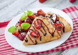 Busco con Urgencia cocinero(a) con experiencia en crepes y comidas rapidas