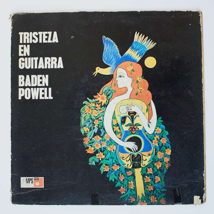 Tristeza en guitarra baden powell LP Vinilo Jazz Blues Bossa Nova 0