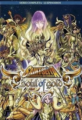 Colección Los Caballeros del Zodiaco / Saint Seya - Soul of Gold