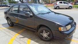Ocasión: Auto Nissan Sentra, mecanica, motor 1600 ,timon original, 4 cilindros, en buenas condiciones. Año 1996.