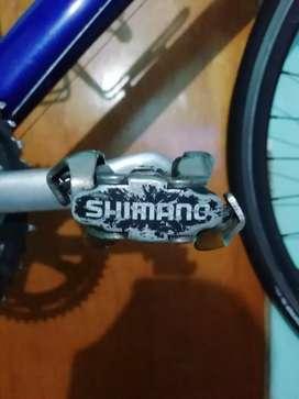 Oferta pedales shimano y zapatillas