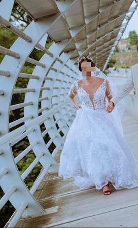 Vendo vestdio de novia