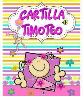 Cartilla Timoteo y Lettering virtual
