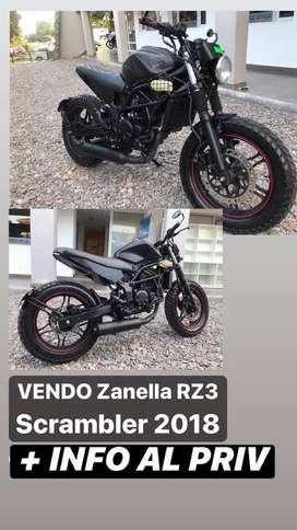 Zanella RZ3 Scarmbler 2018