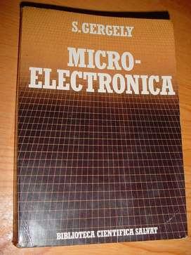 Colección científica Salvat: Microelectrónica by S. Gergely