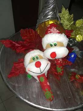 Maracas navideñas