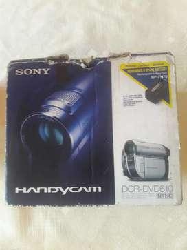VIDEO CAMARA SONY DCR DVD 610