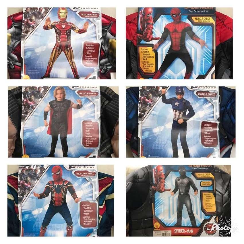Disfraces Avengers talla S y M niños 0