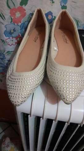 Zapatos Flat Talla 40