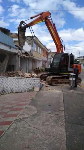 Hacemos tu demolición y excavación