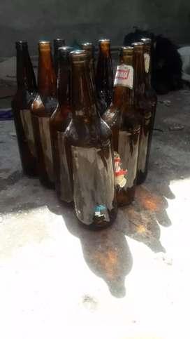 Envases de cervesas por unidad 15 todo junto 100