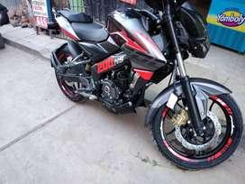 Vendo moto pulsar NS 200