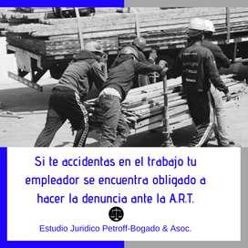 ACCIDENTES LABORALES - A.R.T. - ABOGADOS