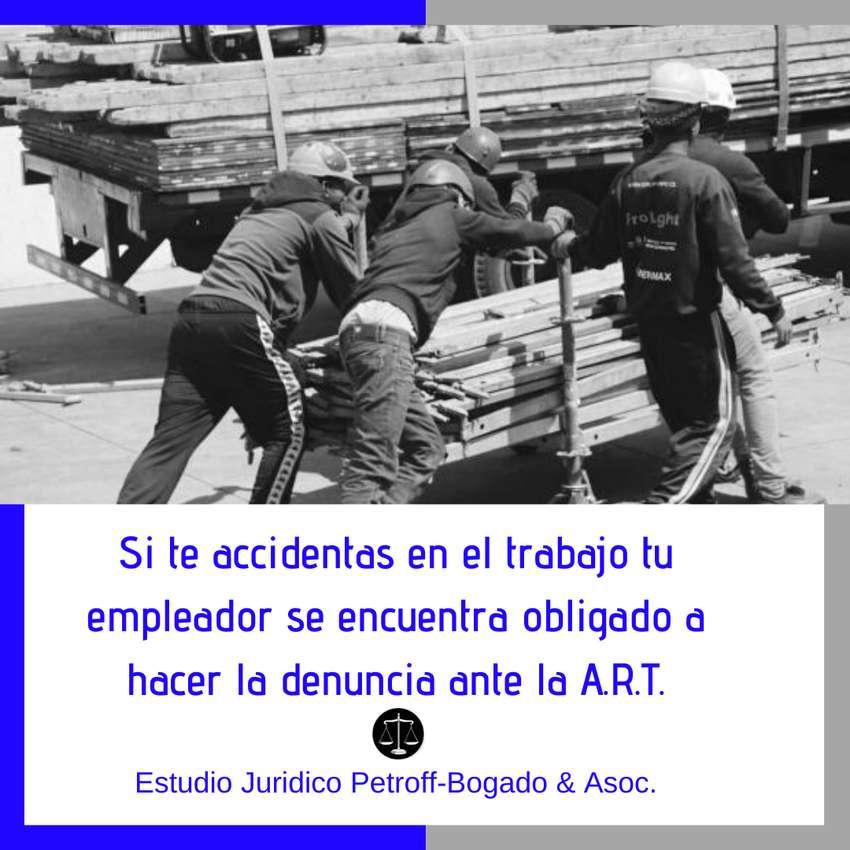ACCIDENTES LABORALES - A.R.T. - ABOGADOS 0