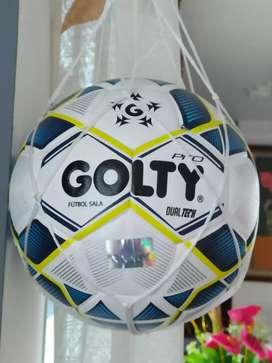 Balón fútbol sala Golty Pro dualtech! Remate, última unidad