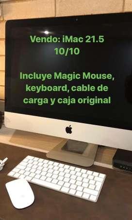 IMac 21.5 con caja