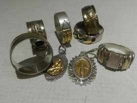 Joyas en Plata Y Oro Espectacular Unicas