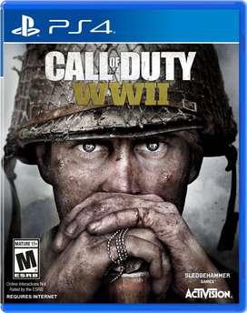 Call Of Duty Ww2 Playstation 4 Ps4, Físico