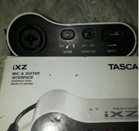 Interface audio mic / guitarra TASCAN