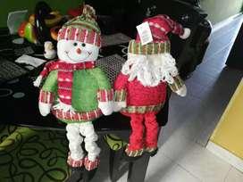Muñecos navideños excelente estado