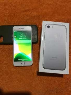 Iphone 7 rosa y gris