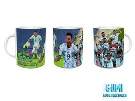 Tazas de Argentina  campeón