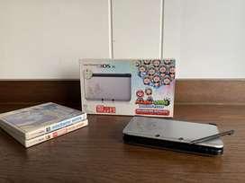 Nintendo 3Ds XL edición Mario y Luigi dream team + dos juegos