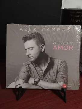 CD Alex Campos Derroche de Amor nuevo sellado