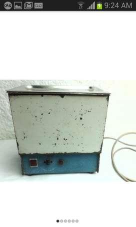 Antiguo Esterilizador Metálicos Marca Polar, Funcional