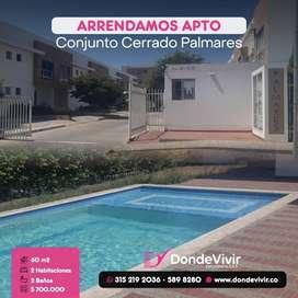 Arriendo Apartamento en Palmares