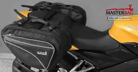 Maletas alforjas equipaje para viaje moto o bicicleta