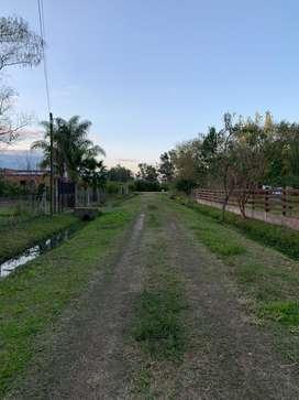 Vendo terreno en San José del Rincón
