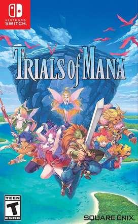 Trials of Mana Switch Nuevo y Sellado