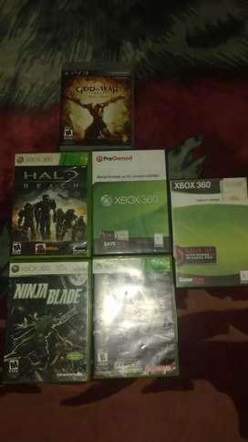 Vendo juegos originales de Xbox 360 y ps3