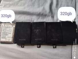 Discos duros de xbox 360 originales y RGH