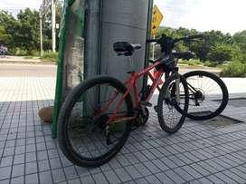 Vendo  bicicleta Optimus marco 27.5, rin 27.5