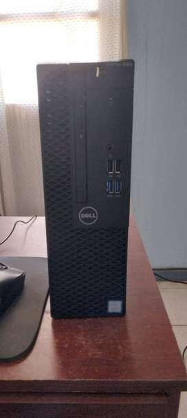 Mini CPU DELL OPTIPLEX 3050 + Monitor Led 19P