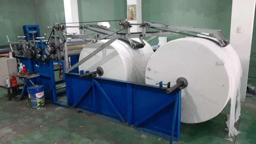 Máquina rebobinadora de papel higienico 0