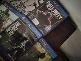 Vendo juegos PS4 /1300 Cada uno