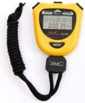 Cronometro 10 Memorias Calendario Hora Alarm Max Electronics MG502