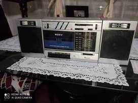 Grabadora Sony clásica 7 bandas