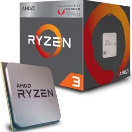 Procesador AMD Ryzen R3 2200G Vega 8 Gaming Pc Gamer Tienda Online MGC