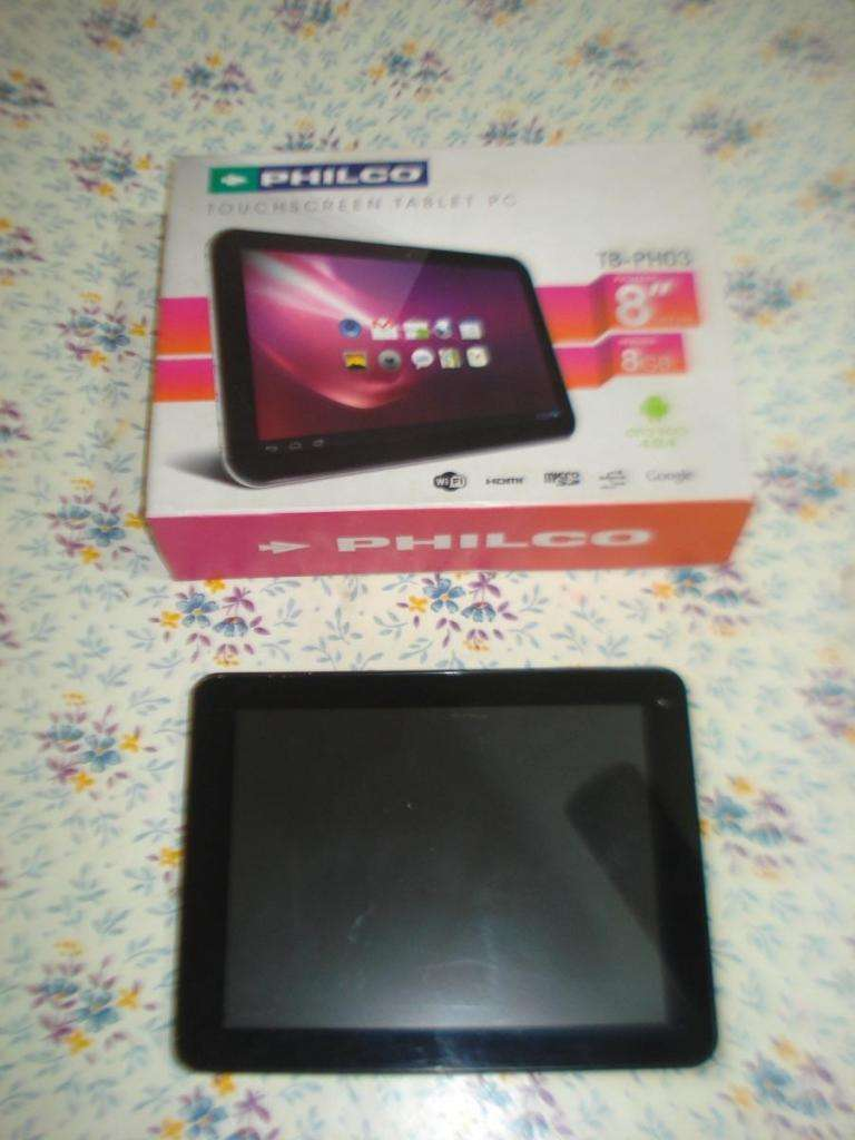 Tablet Philco Tbph03 En Caja No Prende Leer 0