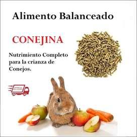 Alimento Conejo Conejina Pellets
