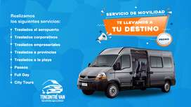 Traslados a todo destino en Lima